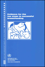 Evidence for the 10 steps to successful breastfeeding